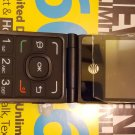 AT&T Alcatel QuickFlip  Mobile Phone - BLACK (Unlocked) + Activated $30. Plan included.