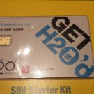 made for H2O Wireless NANO SIM Card BRAND NEW 4G LTE for AT&T & HTC One mini 2