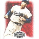 2007 Duke Snider Brooklyn Dodgers Topps Triple Threads HOF s/n 260/1350 Card 99