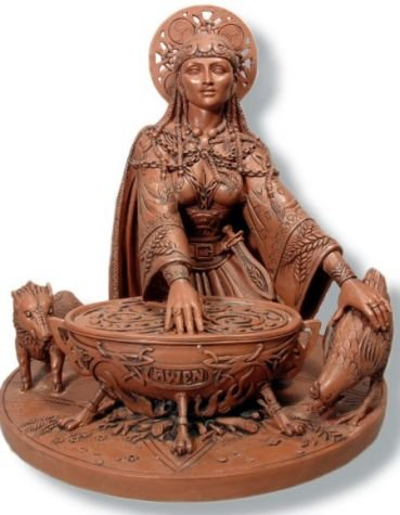 Ceridwen Earth Goddess Statue