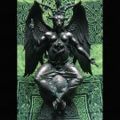 Baphomet Black Resin Statue