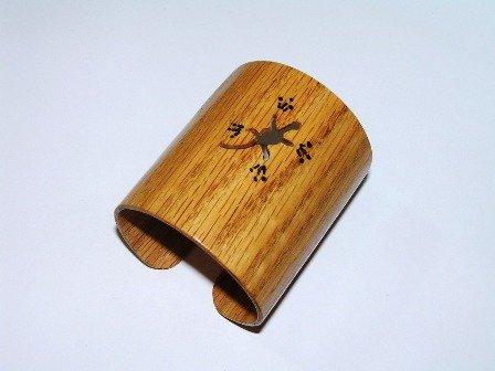 Vintage Hand Made Crafted Bangle wood bracelet