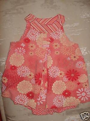 Free Shipping Peach CARTERS Summer Dress 24mo