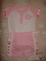 Free Shipping Pink *Official* NBA PISTONS Outfit 6-9mo $50!