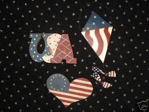 America 4th of July Patriotic USA Crafts