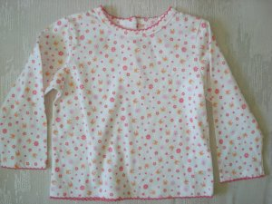 Free Shipping Butterfly Hearts and Flowers Top 24mo
