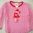 Free Shipping Adorable Sweet Potatoes Little Girl Top 2T
