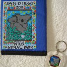 FREE SHIPPING Adorable Koala San Diego Zoo Wallet & Keychain Lot