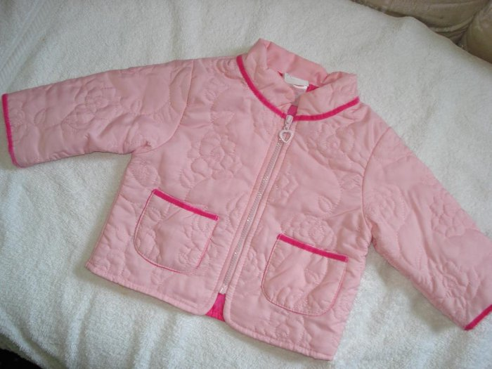 Free Shipping Adorable Nannette Rose Embroidered Fall Jacket 12mo