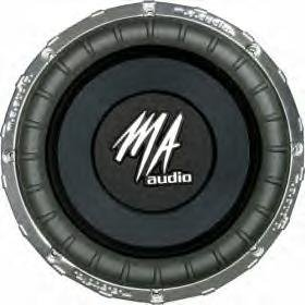 "15"" High Performance Subwoofer"