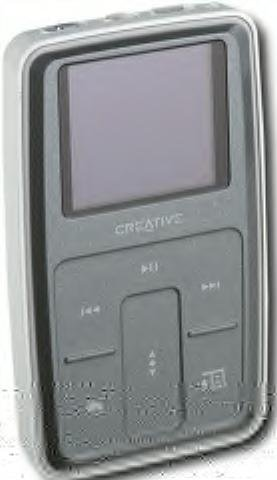 Creative Labs Zen Micro Photo MP3 Player with 8GB Hard Drive  Silver