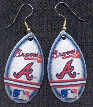 Atlanta Braves Ear Rings