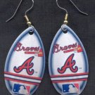 Atlanta Braves Ear Rings