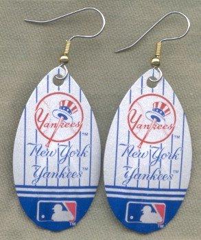 New York Yankees Ear Rings