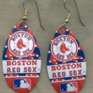 Boston Red Sox Ear Rings