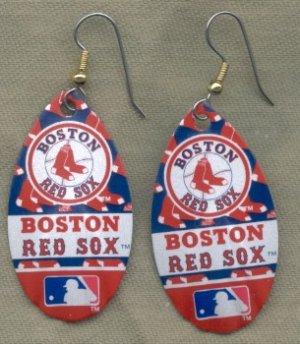 Boston Red Sox Ear Rings