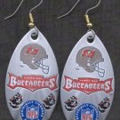 Tampa Bay Bucaneers Ear Rings
