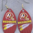 Washington Redskins Ear Rings