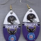 Baltimore Ravens Ear Rings