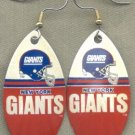 New York Giants Ear Rings