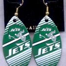 New York Jets Ear Rings