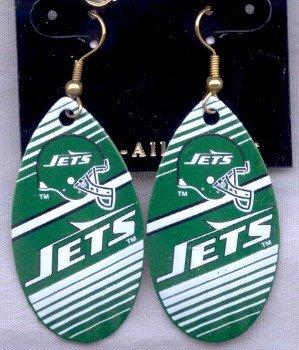 New York Jets Ear Rings