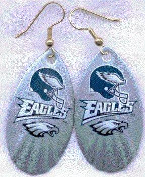 Philadelphia Eagles Ear Rings