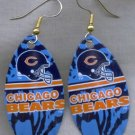 Chicago Bears Ear Rings