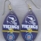 Minnesota Vikings Ear Rings