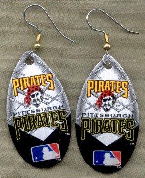 Pitsburgh Pirates Ear Rings