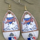 California Angels Ear Rings