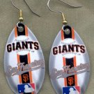 San Francisco Giants Ear Rings