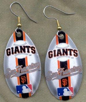 San Francisco Giants Ear Rings