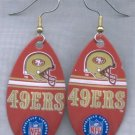 San Francisco 49ers Ear Rings