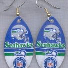 Seattle Sea Hawks Ear Rings