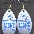 Detroit Lions Ear Rings