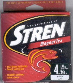 Stren Magnaflex Mono Line - 4 Lb test - 330 yds - Clear