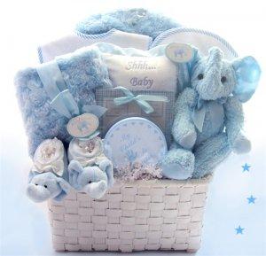 Luxurious Baby Boy Basket