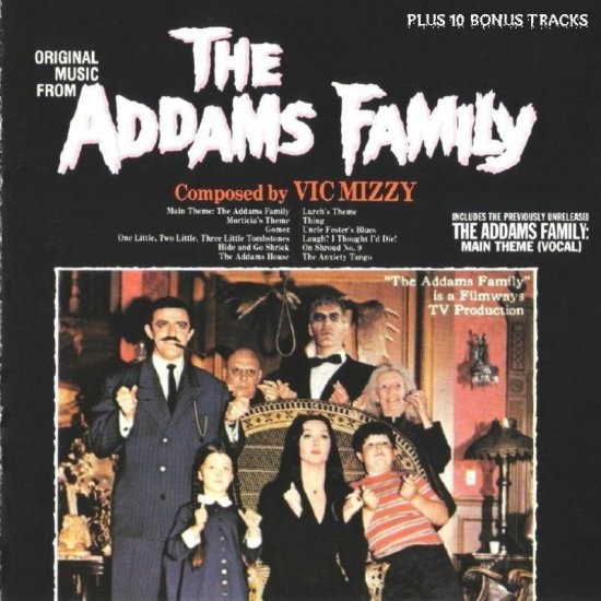 The Addams Family TV Soundtrack CD