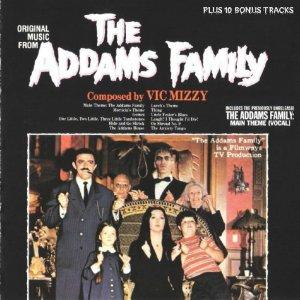 The Addams Family TV Soundtrack CD