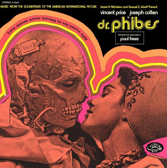 The Abominable Dr. Phibes Soundtrack CD Paul Frees
