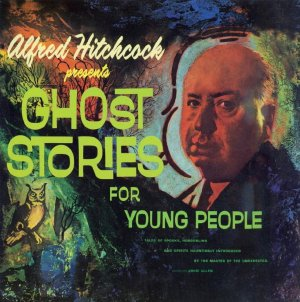 """Alfred Hitchcock """"Ghost Stories For Young People"""" CD"""