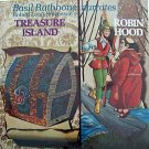 "Basil Rathbone ""Robin Hood/Treasure Island"" CD"