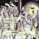 Night In A Graveyard Recorded At Drac's Estate CD