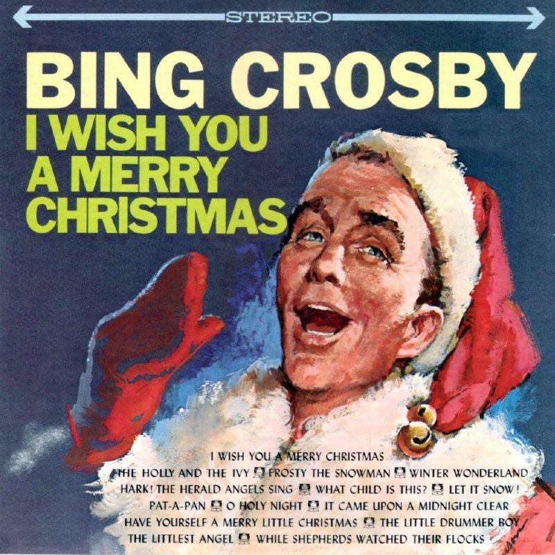 bing crosby  u0026quot i wish you a merry christmas u0026quot  cd
