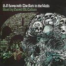 """David McCallum Reads H. P. Lovecraft's """"The Rats In The Walls""""  CD"""