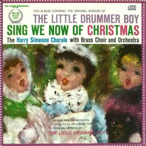 HARRY SIMEONE CHORALE SING WE NOW OF CHRISTMAS CD INCLUDES 10 PAGE LYRIC BOOKLET