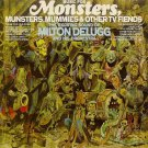 Music For Monsters, Munsters, Mummies, And Other TV Fiends - Milton DeLugg CD