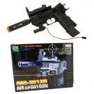 Airsoft Gun w/ Laser and Silencer