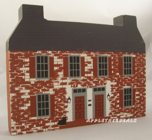 CAT'S MEOW VILLAGE 1986 JOHN BELVILLE HOUSE SERIES IV NEW